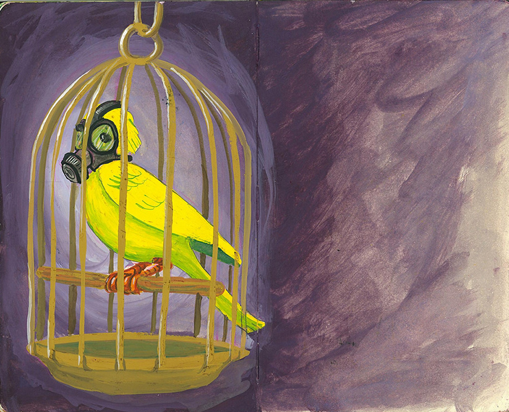 I Think The Canary is Wheezing